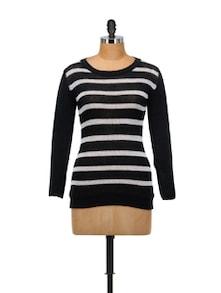 Black & White Striped Top - SPECIES