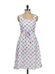 Polka Dotted Dress - Meira