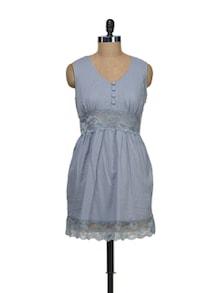Grey Lace Dress - Schwof