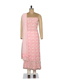 Pretty Pink Embroidered Suit - Ada
