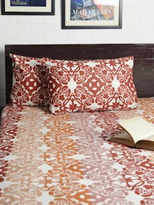 Cotton Printed Bedsheet With 2 Pillow Cover - HOUSE THIS