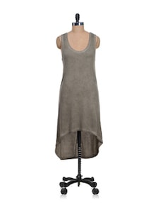 Relaxed Fit Brown Dress - I AM FOR YOU