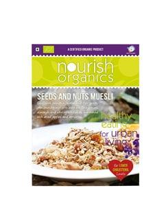 Seeds & Nuts Muesli - Nourish Organics