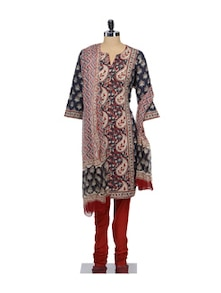 Suit Set In Assorted Print - KILOL