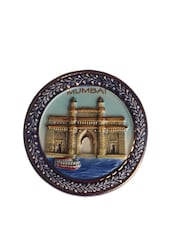 Gateway Of India Round Magnet - The Bombay Store