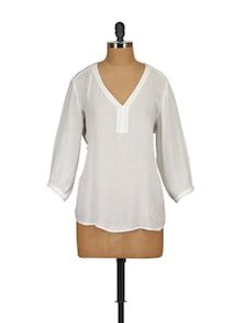 Pearl Embellished Top - Tops And Tunics