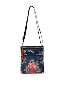 Navy Floral Sling Bag - Toniq