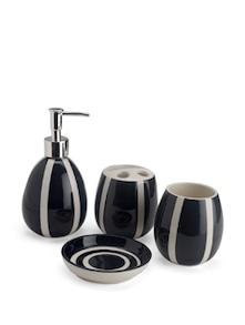 Black And White Bathroom Set - Birde