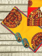 Yellow Set Of Table Linens - PRIYAA-pret|couture|home