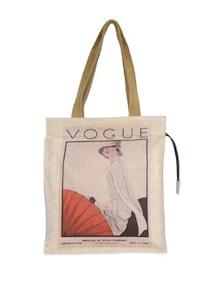 Vogue Jute Handbag - The House Of Tara