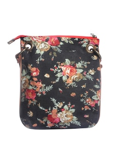 Floral Colossal Bag - Ivory Tag