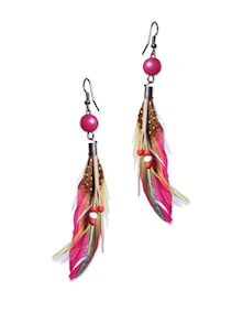 Boho Chic Feather Earrings - Blend Fashion Accessories