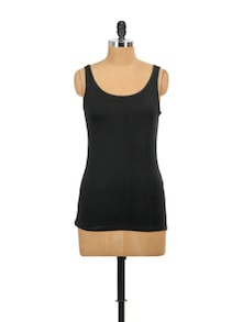 Basic Black Tank Top - Miss Chase