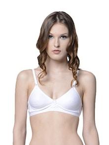 Stylish White Bra - Lady Lyka