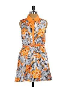 Tangerine Tango Summer Dress - Mishka