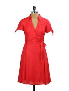 Rio Rage Red Dress - Mishka