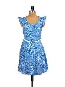 Painted In Print Dress - Mishka