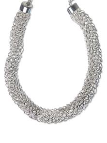 Chunky Silver Necklace - CIRCUZZ