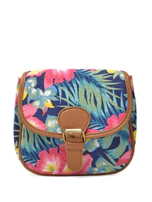Flowers And Fairytale Sling Bag - Toniq
