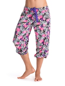 Floral Bandwagon Cropped Pajama - PrettySecrets