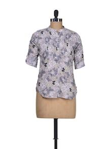 Bold Multicolour Cotton Shirt - Silk Weavers