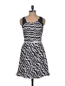 Monochrome Mania Summer Dress - Mishka