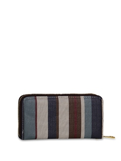 Stylish Striped Wallet - ALESSIA 6775