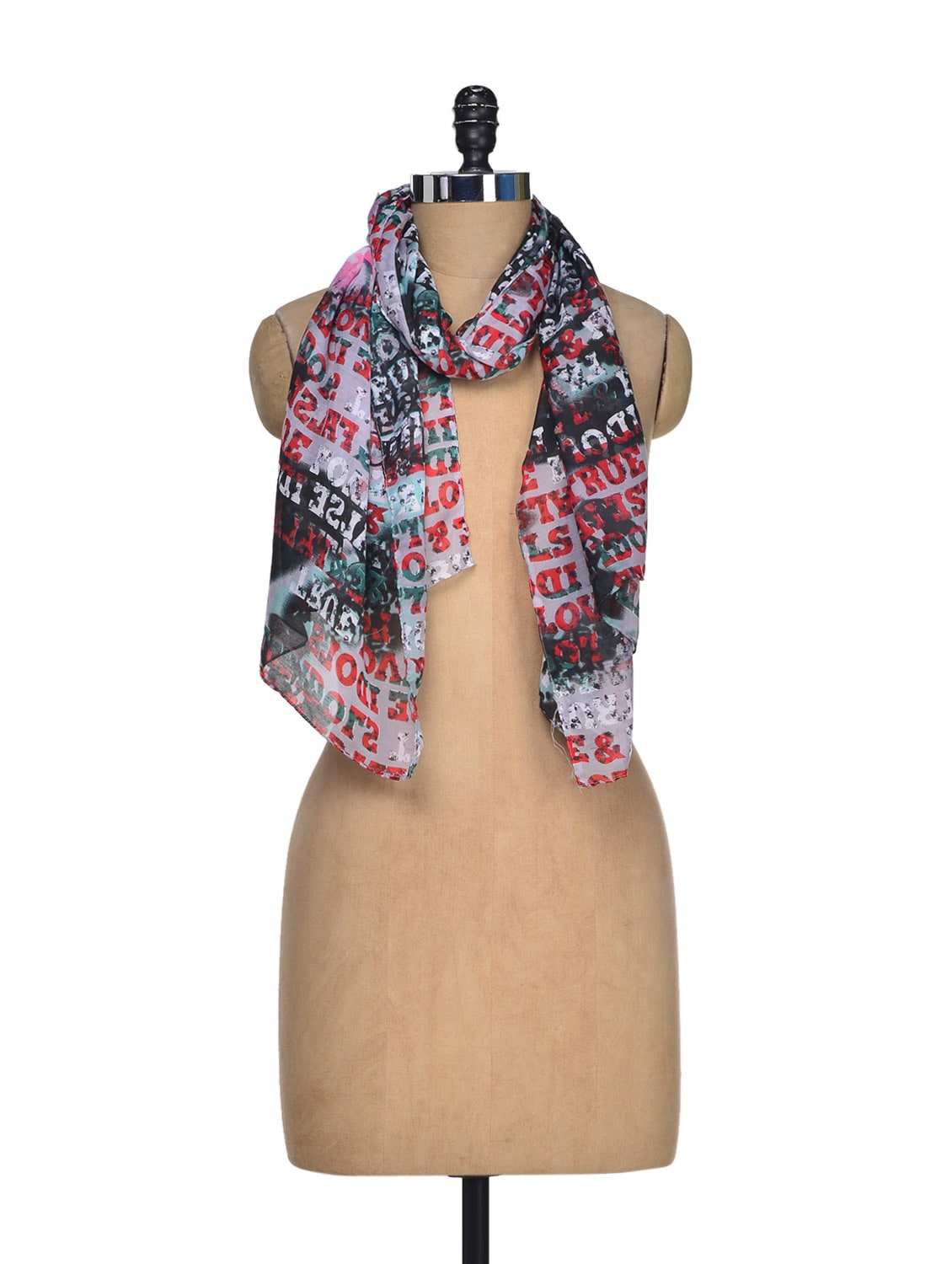 Love Quotes Scarf Buy Love Quotes Scarfj Style  Online Shopping For Scarves In