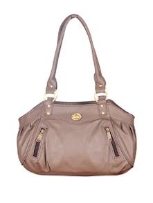 Beige Sober Fostello Handbag - FOSTELO