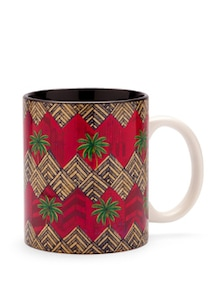 Funky Zigzag Coffee Mug - India Circus