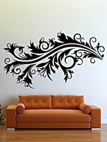 Black Accent Wall Sticker - DeStudio