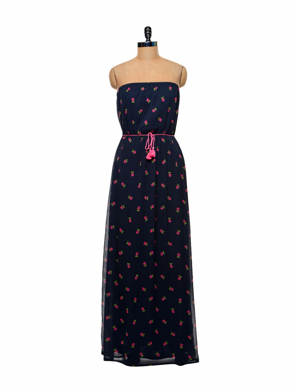 40398cd914d Navy Blue Tube Maxi Dress - STREET 9 Best Deals With Price ...