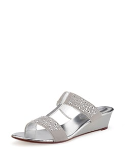 Silver Studded Sandals - Carlton London