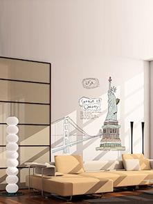 Statue Of Liberty Wall Decal - Uberlyfe
