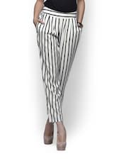 Classy Vertical Striped Trousers - Meira