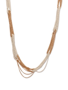 Chic Multi Chained Beads Necklace - CIRCUZZ