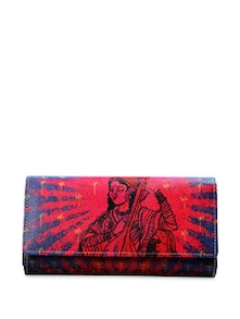 The Lady With The Sitar Wallet - Mad(e) In India