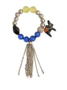 Beaded Elephant Charm Bracelet - Blend Fashion Accessories