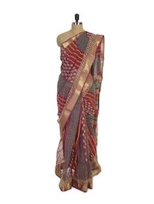 Kota Cotton Silk Saree - Spatika Sarees