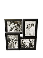 Vintage Collection Of 4 Black Photo Frames - BLACKSMITH
