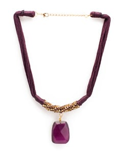 Purple Passion Ethnic Necklace - Accessory Bug