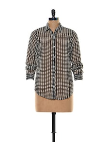 Black And White Check Shirt - Trend 18