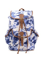 multi Printed Canvas Backpack -  online shopping for backpacks