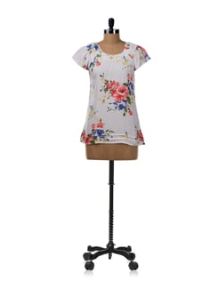 Floral Print Summer Top - Allen Solly