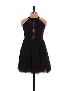 Dare To Bare Little Black Dress - Xniva