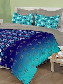 Multicolour Printed Bed Sheet - Birla Century