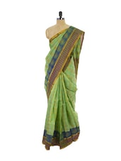 Green Kanchipuram Vasundhra Pattu Silk Saree - Pothys