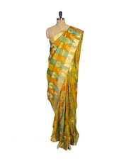 Multi Colored Kanchipuram Mayuri Pattu Silk Saree - Pothys