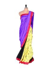 Art Silk Quirky Saree - Vishal Sarees