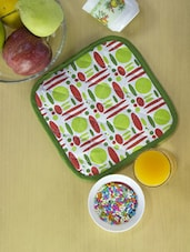 Set Of 2 Multicolor Kitchen Pot Holders - Home Colors